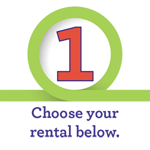 Step 1 - Choose Your Rental