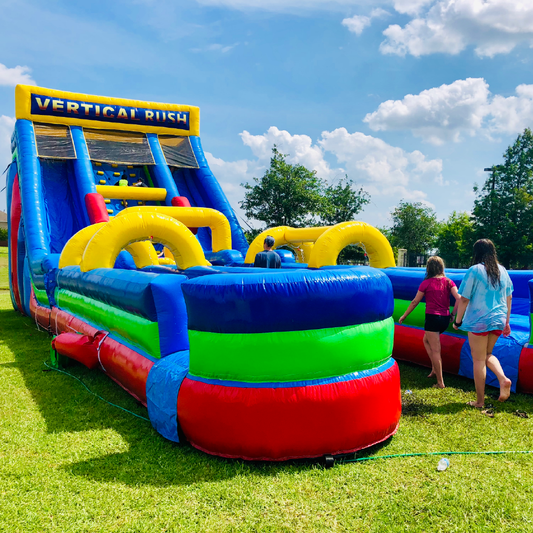 Dry & Water Slides | Bounce House Rentals Katy TX: Rent