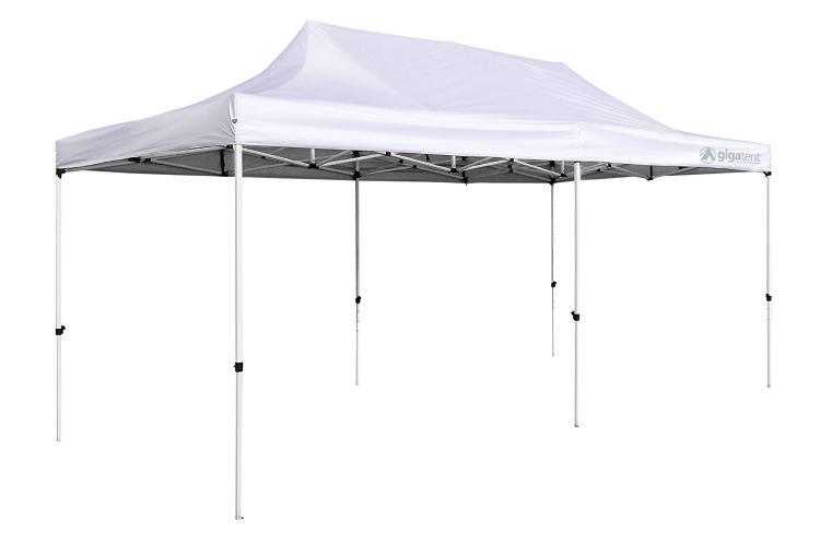 White 10' X 20' Tent