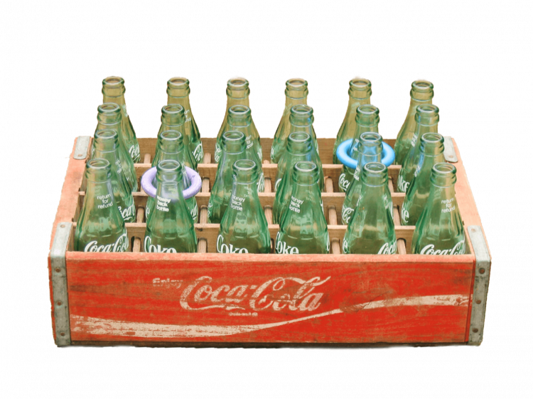 Coke Bottle Toss Game