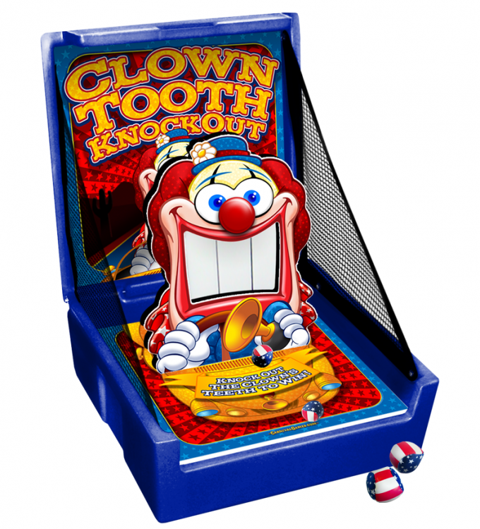 CARNIVAL GAME- Clown Tooth KnockOut
