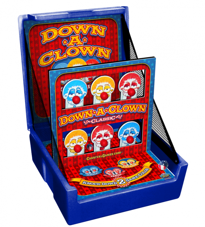 CARNIVAL GAME - Down A Clown