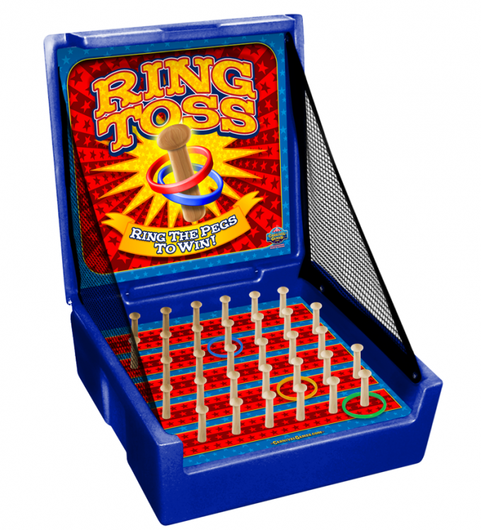CARNIVAL GAME- Ring Toss
