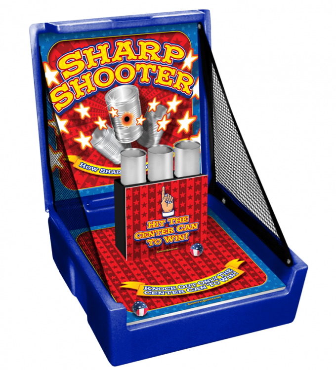 CARNIVAL GAME- Sharp Shooter