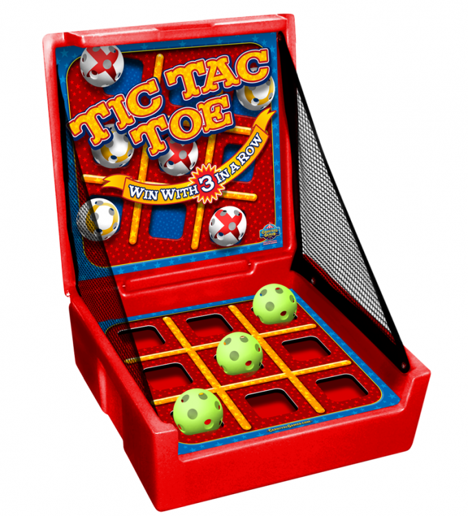 CARNIVAL GAME- Tic-Tac-Toe