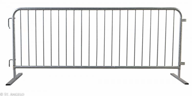 Steel Pedestrian Barricade