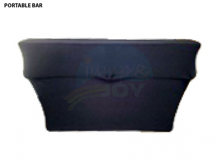 6' Two Tier Rectangular Bar