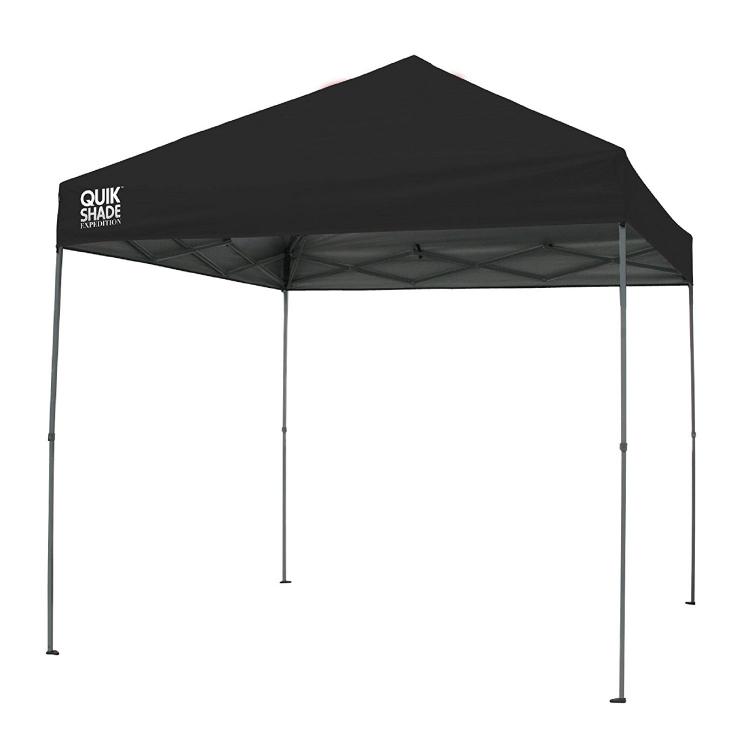 Black 10' X 10' Tent