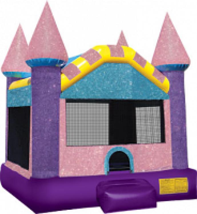 DAZZLING LARGE CASTLE BOUNCE HOUSE