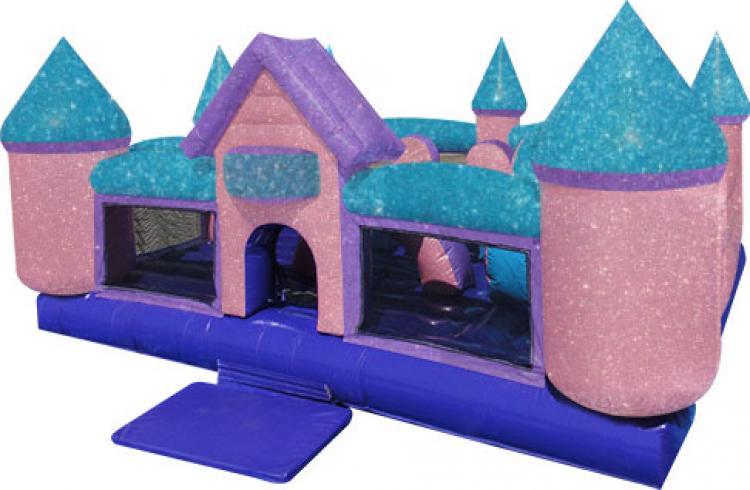 Dazzling Princess Toddler Castle Combo