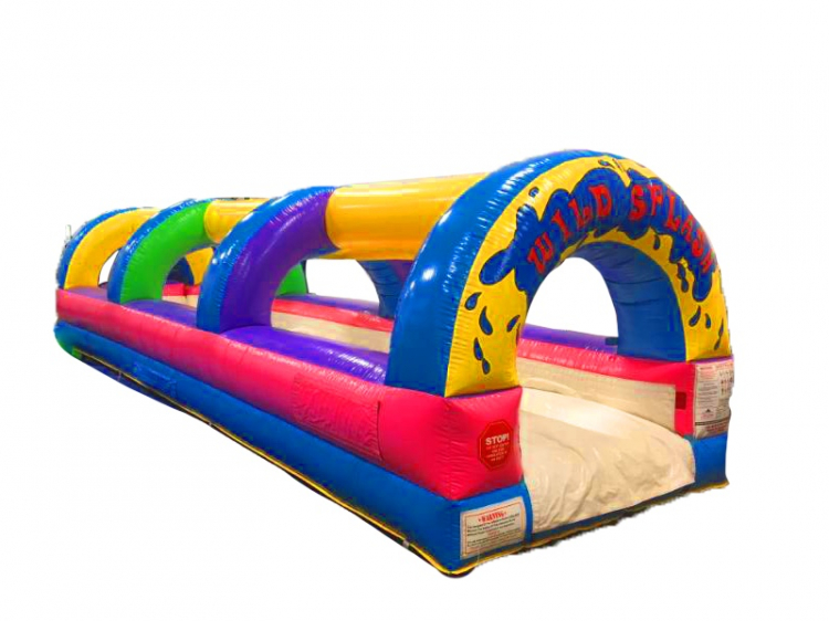 WILD SPLASH 28' SLIP & SLIDE WATER SLIDE