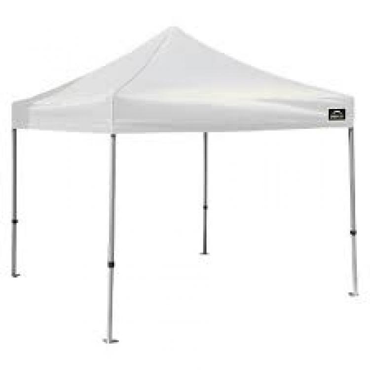 White 10' X 10' Tent