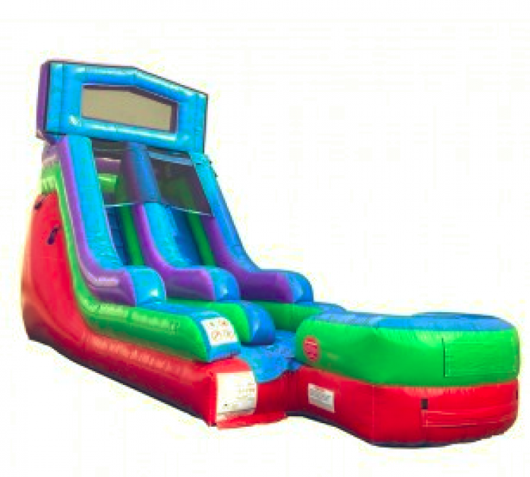 RETRO SCREAMER DRY OR WATER SLIDE 100+ THEMES