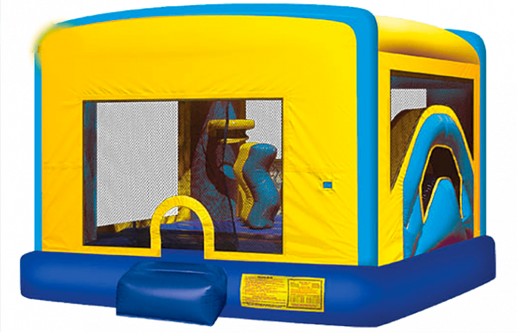 PLAYGROUND BOUNCER 4 IN 1 SLIDE COMBO