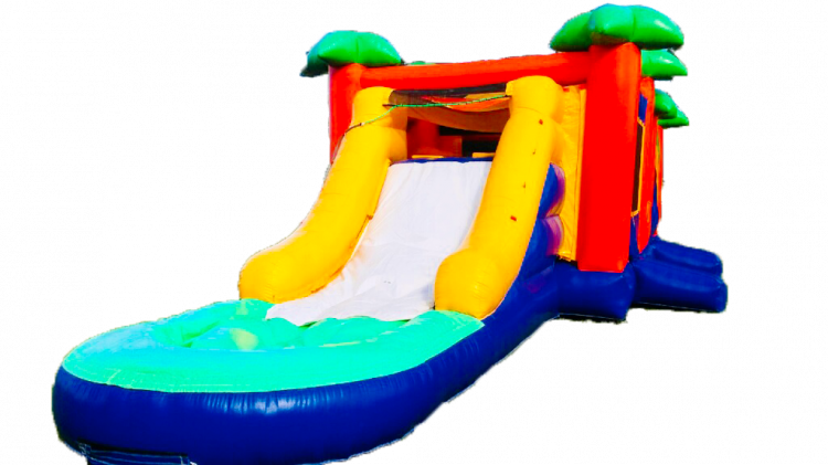 Paradise Waterslide Bounce Combo