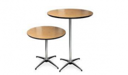 Bistro OR Cocktail Table 36 Round Lowboy OR Hiboy