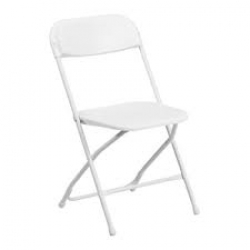White Adult Chair