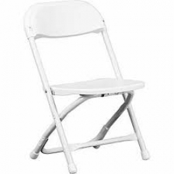 White Child Chair