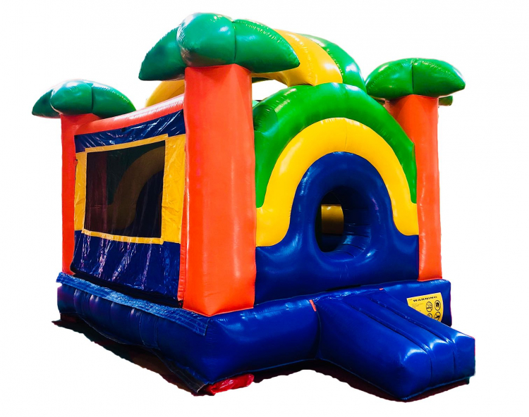 PARADISE BOUNCE HOUSE w/ INTERACTIVES